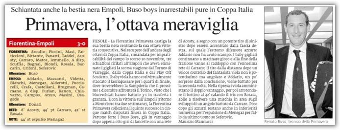 Fiorentina - Empoli 3 - 0